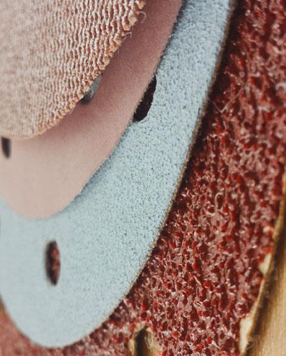 productos abrasivos en boluda industrial