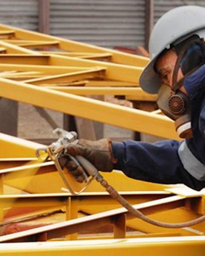 material de pintura en boluda industrial