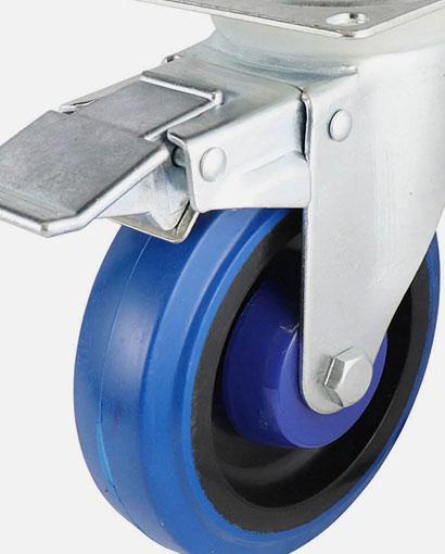 ruedas y soportes rodantes en boluda industrial